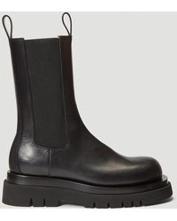 Bottega Veneta - Female Black 100% Leather. 100% Rubber. - Lyst