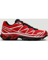 Salomon S/lan Xt-6 Softground Adv Sneakers - Red