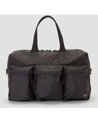 Porter 2way Duffle Bag - Black