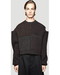 Bottega Veneta Male Brown 100% Textile. Dry Clean. - Black