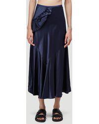 Simone Rocha - Female Blue 100% Silk. Dry Clean. - Lyst