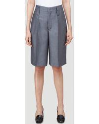 Prada Tailored Shorts - Grey