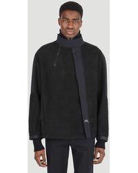 A_COLD_WALL* Bias Fleece Jacket - Black