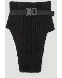 1017 ALYX 9SM Knit Neck Warmer - Black
