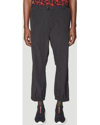 Prada Nylon Trousers In Black