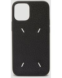 Maison Margiela Four-stitch Iphone 11 Pro Case - Black