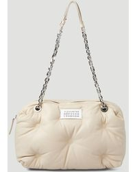 Maison Margiela Glam Slam Bowling Shoulder Bag - Natural