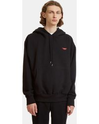 Stella McCartney - No Smile No Service Print Hooded Sweater In Black - Lyst
