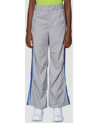 ADER error Thunder Trousers In Grey - Gray