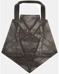 a811c6102839 132 5. Issey Miyake - Standard 4 Origami Tote Bag In Black - Lyst