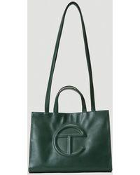 Telfar Medium Shopping Bag - Green