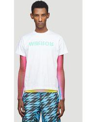 Walter Van Beirendonck Mirror T-shirt - White