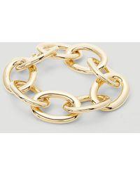 Tom Wood Chunky Link Bracelet - Metallic