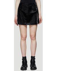 1017 ALYX 9SM Light Tech Mini Skirt In Black