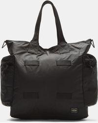 Porter - 2-way Tote Bag In Black - Lyst