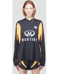 Martine Rose Female Black 100% Polyester. Dry Clean. - Multicolour