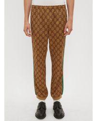 Gucci - Gg Supreme Web Track Pants - Lyst