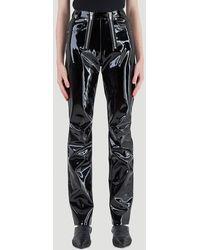 GmbH Frey Vinyl Pants - Black