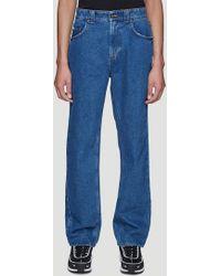 Martine Rose L-blackburn Jeans In Blue