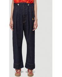 Vivienne Westwood Corset Jeans - Black