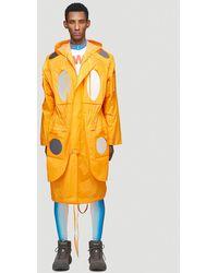 Walter Van Beirendonck Male Orange 69% Cotton, 31% Polyamide. Dry Clean.