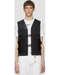 1017 ALYX 9SM - Trooper Brace Vest In Black - Lyst