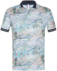 Sun 68 Polo-Shirt - Blau