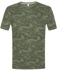 Sun 68 T-Shirt - Grün