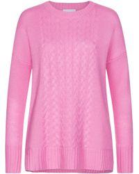 Lodenfrey Cashmere-Pullover - Pink