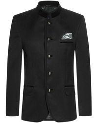 Lodenfrey Hohenzell Trachten-Anzug - Schwarz