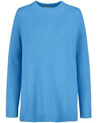 Lodenfrey Cashmere-Pullover - Blau