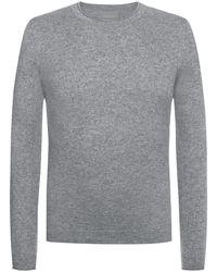 Lodenfrey R-Neck Pullover - Grau