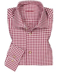 Lodenfrey Trachtenhemd - Rot