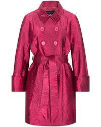 Talbot Runhof Cumarin2 Mantel - Pink