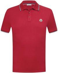 Moncler Polo-Shirt - Rot