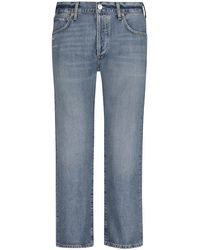 Citizens of Humanity Emery 7/8-Jeans Crop Relaxed - Blau