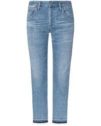 Citizens of Humanity Emerson 7/8-Jeans Slim Fit Boyfriend Crop - Blau