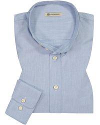 gottseidank Lenz Trachtenhemd - Blau