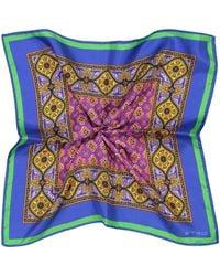 Etro Seiden-Einstecktuch - Mehrfarbig