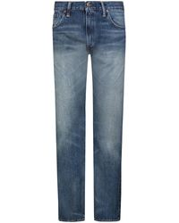 RRL Jeans Slim Fit - Blau