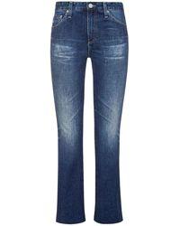 AG Jeans The Jodi 7/8-Jeans High Rise Slim Flare Crop - Blau