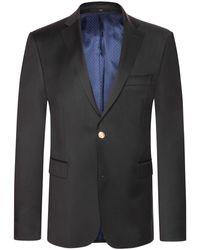 EDUARD DRESSLER Nardo Sakko Comfort Fit - Blau