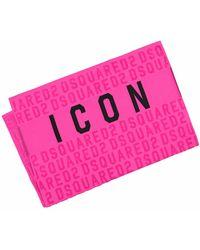 DSquared² Handtuch - Pink