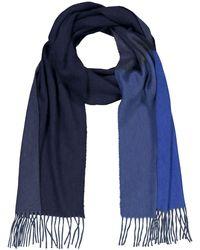 Begg & Co Arran Cashmere-Schal - Blau