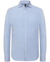 Wahts Jerseyhemd - Blau