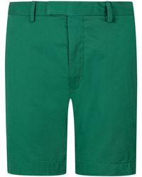 Polo Ralph Lauren Bermudas Stretch Slim Fit - Grün