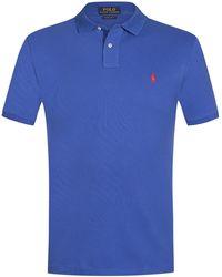 Polo Ralph Lauren Polo-Shirt Slim Fit - Blau