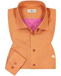 Etro Casualhemd - Orange