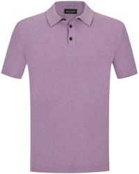 Roberto Collina - Frottee-Polo-Shirt - Lyst
