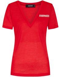 DSquared² T-Shirt - Rot